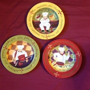 Other - Chef decor plates